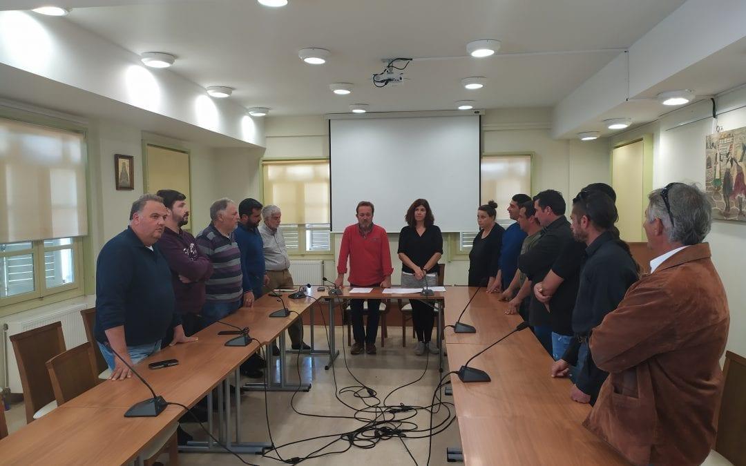Ορκωμοσία νέων υπαλλήλων στο Δήμο Κύθνου